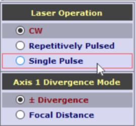 Laser Operation