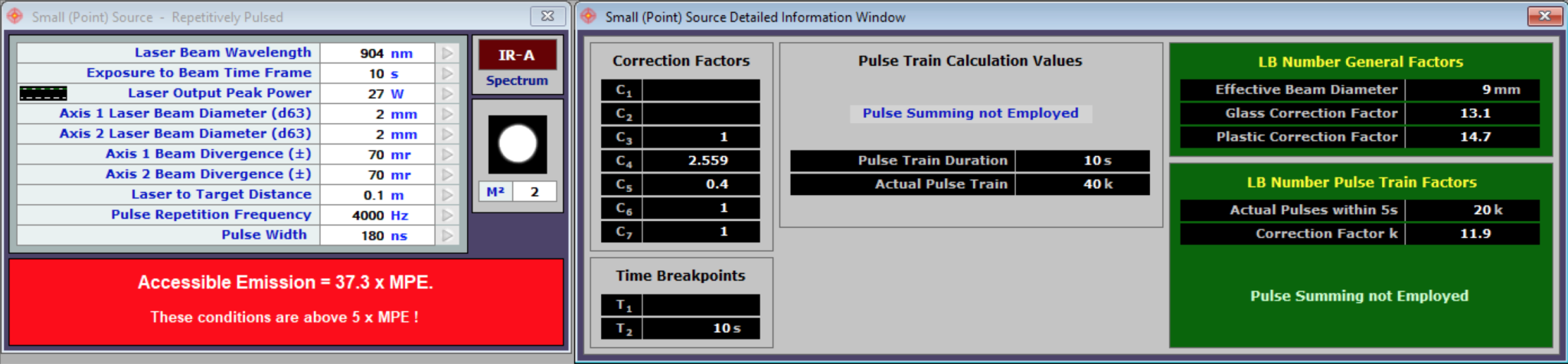 In-Depth Calculation Detail